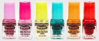 crayola makes nail polish in bright colors ny daily news