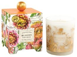 michel design works gift boxed soy wax candle 14 ounce blooms
