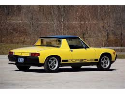 old porsche 914 used canary yellow porsche 914 for sale lincolnshire