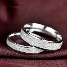 sterling wedding rings images 925 sterling silver engagement and wedding rings couples ring for jpg