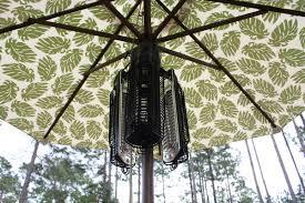 40000 Btu Patio Heater by Fire Sense Umbrella 1500 Watt Electric Hanging Patio Heater