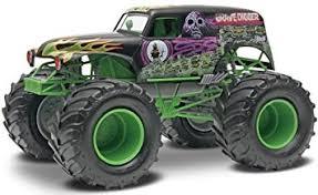 revell snaptite grave digger monster truck plastic model kit