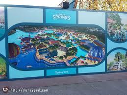 Disney Springs Map Disney Springs Concept Art On A Wall Near Planet Hollywood U2013 The