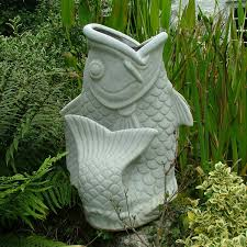 granite koi carp fish planter large garden ornament s s shop