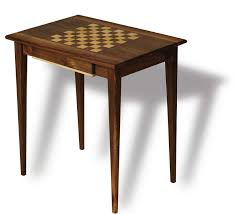 Free Wooden Table Plans by Chess Table Canadian Woodworking Magazine