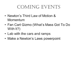force and fan carts gizmo answer key newton s second law of motion ppt video online download