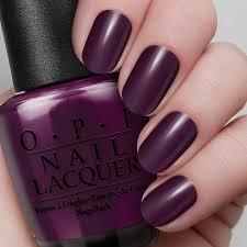 black cherry chutney nail lacquer opi
