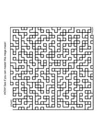 free online printable kids games bus maze buses