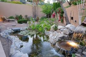 Custom Backyards 53 Backyard Garden Waterfalls Pictures Of Designs Designing Idea