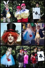 alice halloween party alice in wonderland family costumes halloween pinterest