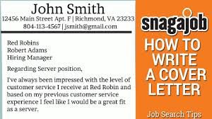 How To Type A Cover Letter For Resume Job Search Tips Part 11 How To Write A Cover Letter Youtube