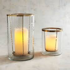 etched glass hurricane candle holders pier 1 imports