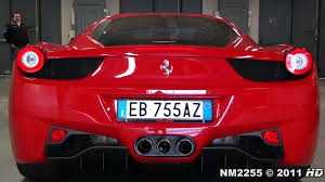 458 italia sound 458 italia sound start up revs and accelerations