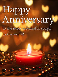 to the world s most wonderful happy anniversary card