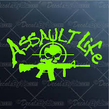 salt life decal lowest prices on assault life m 4 car stickers