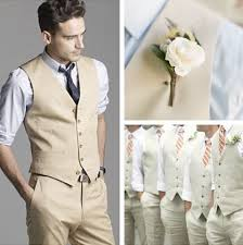 light gray vested suit what is your fiance wearing the knot
