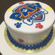 mini paw patrol cake crissa u0027s cake corner