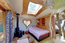 Heart Shaped Bed Frame by Inside The Magical Fairytale Tree House That U0027s Taken Glamping To A