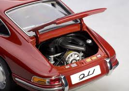 porsche 911 1964 red mk modellautoshop exclusive car replicas