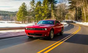 dodge sports car 2017 dodge challenger gt awd test review car and driver