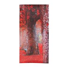 canvas painting for home decoration 5 cascade autumn red tree abstract canvas wall painting picture