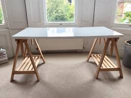 trestle legs and table top desk for sale posot class
