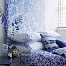 Morris Rugs Chrysanthemum China Blue Blue Bedrooms Bedrooms And - Blue and white bedroom designs