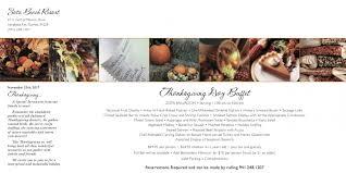 thanksgiving brunch at viento kitchen bar at zota resort