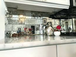 Mirrored Mosaic Tile Backsplash by Pantry Mirror Tile Backsplash Diy Mirror Backsplash Tile Mirrored