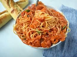 lover u0027s pasta with tomato cream sauce modern honey