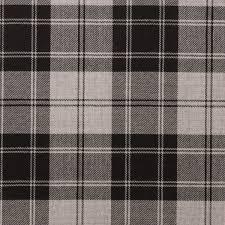 tartan pattern douglas grey light weight tartan fabric lochcarron of scotland