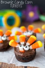 the cutest thanksgiving brownies you ve seen fudge