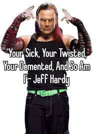 Jeff Hardy Halloween Costume Sick Twisted Demented