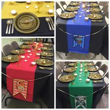 Birthday Table Decorations by Harry Potter Baby Shower Table Decorations And Place Setting