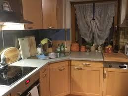echtholzküche habe eine brugmann echtholzküche ahorn chagne in l form