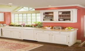 Kitchen Paint With Oak Cabinets Simple Orange Kitchen Walls With White Cabinets Accent Intended