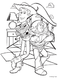 buzz jessie coloring pages tags buzz coloring pages