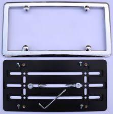 mercedes license plate holder mercedes license frame chrome ebay