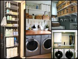 Storage Ideas For Small Laundry Rooms by Small Laundry Room Organization Tips Diy Home Organization Ideas