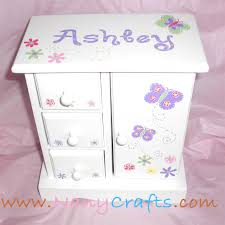 girl jewelry box personalized kids jewelry boxes nanycrafts baby gifts