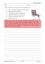 ks2 direct speech teachit primary