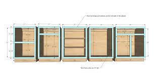 facelift kitchen cabinets plans free kitchen 550x399 67kb