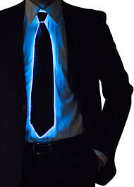 light up bow tie light up neck tie neon nightlife