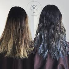 men hair colour board 2015 before after love this x men steel blue ombre hairbyjeffreyrobert