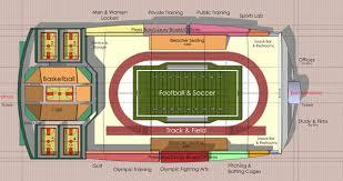 Drawing Floor Plans In Excel Core Excel Sports Complex Facilities Floorplan