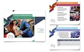 dj powerpoint presentation template design