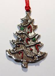 Pewter Christmas Ornaments Amazon Com
