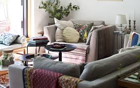 living spaces side tables mix and match small side tables for a fluid living space for the