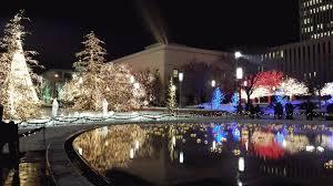 christmas lights in downtown salt lake city gif on imgur