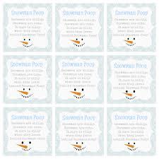 gift handprint ornament snowman poem printable quotes